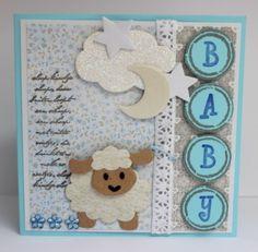 Babykaart met schaapje #6