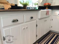 Redone Knotty Pine Kitchen Painted Cabinets Look Pretty