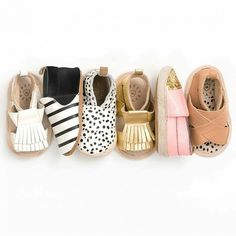 Inspirations for diy baby shoes