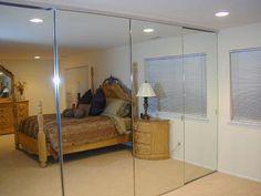 Delightful Executive Mirror Door,Wardrobe Doors,Sliding Doors,Closet Doors, Bifold  Doors