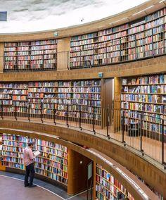 Stockholm Public Library; Stockholm, Sweden
