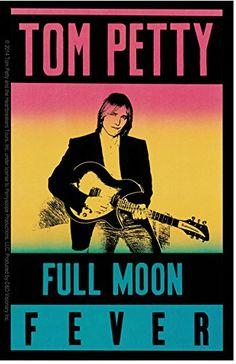 CD Visionary Tom Petty Full Moon Sticker