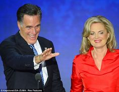 Mitt Romney Wife MS   Republican presidential candidate Mitt Romney and his wife Ann Romney ...