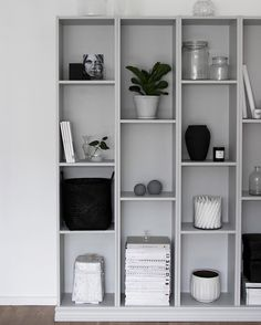 in my mind right now: should I paint this shelf darker? Yay or nay?