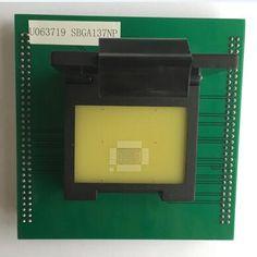 SBGA137NP SBGA137 flash memory Test Socket adapter for up818P up828P