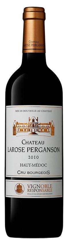 Château Larose Perganson 2010  Vin Haut Médoc Cru Bourgeois