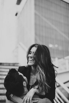 City Chic Engagement Shoot in Denver | Bridal Musings Wedding Blog