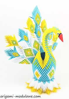 Intricate Paper Animals Crafted with Elaborate Origami Techniques - My Modern Met