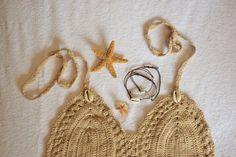 HALLOWEEN mermaid costume baja starfish accessories by PoppyCoast