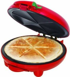 BELLA 13506 8-inch Quesadilla Maker, Red - Visit to see more options