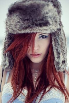 red hair - makes me want to go red.