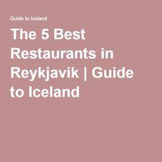 The 5 Best Restaurants in Reykjavik   Guide to Iceland