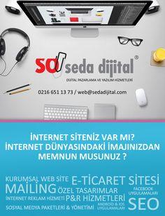 www.sedadijital.com özel web tasarımlar, projeye özel yazılım, e-ticaret paketleri, mail bülten tasarımları, mail bülten gönderimleri, Seo ile HİZMETİNİZDE.