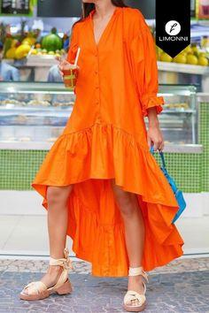 Comprar - Vestidos para mujer Limonni Mailía LI3367 Maxidress Maria Jose, Kurti, High Low, Indian, My Style, Stylish, Womens Fashion, Casual, Baby Shower