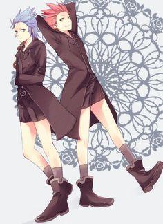 Isa & Lea Kingdom Hearts.