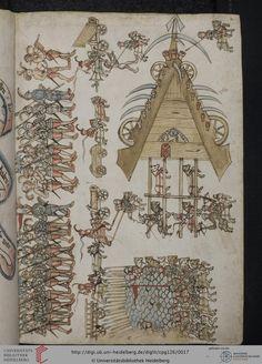 Universitätsbibliothek Heidelberg, Cod. Pal. germ. 126 Philipp Mönch Kriegsbuch Heidelberg, 1496 Seite: 2r