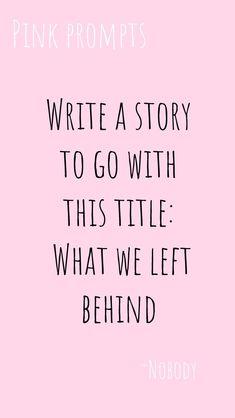 Writing Inspiration Prompts, Writing Prompts For Writers, Creative Writing Prompts, Book Writing Tips, Writing Help, Writing Skills, Writing Ideas, Writing Lyrics, Music Writing