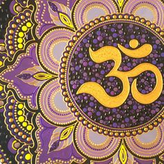 MADE TO ORDER PROCESSING TIME 1-2 WEEKS Om is one of the most important spiritual symbols. Decorative plate with Om symbol is a magnificent addition to yoga studio decor or a spectacular yoga teacher gift. The dot art mandala painted on the ceramic plates. Om is considered one of the