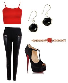 """""""Untitled #7"""" by explorer-14571046578 on Polyvore featuring WearAll, Christian Louboutin and Mawi"""