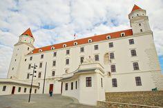 Bratislava Castle: Rebuilt from ruins in the Heart Of Europe, Big Country, European Countries, Bratislava, New Age, Czech Republic, Old World, Castles, Folk Art