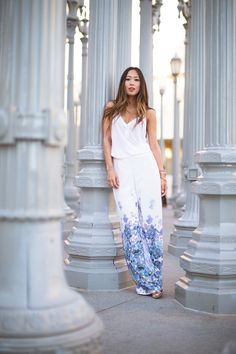 Song of Style: Palazzo Pants in LACMA