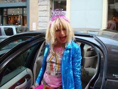Betsey Johnson's birthday party!