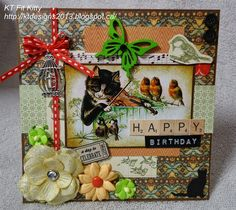 Hi, everybody! Before I share my card, I would like to welcome my newest follower - Stamping...