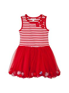 Sparkly dress, that'll look not only cute but stylish for Summer Christmas ♡ #DearPumpkinPatch