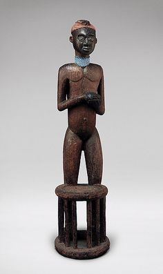 Kom Mbang Nafon Effigy Throne, Cameroon