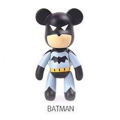 Popobe Bear Cute Character Car Vehicle Vent Clip Air Freshener - Batman #POPOBE