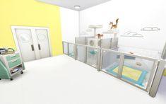 Sims 4 Beds, Sims Pets, Sims House Design, Casas The Sims 4, Sims Building, Pet Hotel, Sims 4 Build, Sims 4 Houses, Sims 4 Game