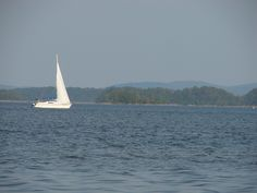 Lake Ouachita in Arkansas, Summer 2011