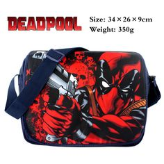 2016 Anime DEADPOOL Cosplay Shoulder Messenger bag Canvas Handbag School Bags Deadpool Shop - Get your deadpool products here