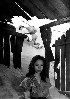 """Woman in the Dunes"" dir Hiroshi Teshigahara (1964) screenplay by Kobo Abe"