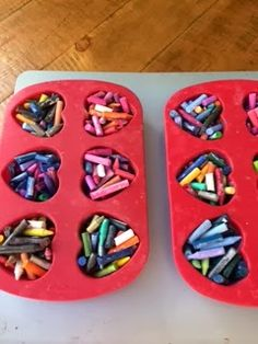 Inspired Elementary: Heart-Shaped Crayons