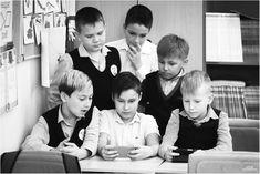 Выпускной альбом 4 класса. Перемена) Хотя возраст детей никак, к сожалению, сейчас не влияет на их интересы. В телефоне отвисают  дети всех возрастов.