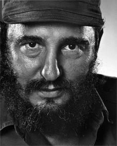 Fidel Castro | by Yousuf Karsh