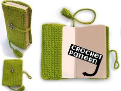 PDF Crochet Pattern for Book Cover Permission от AdorkableCrochet