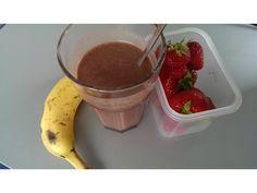 Lecker Büro-Frühstück #musclemilkprotein #breakfast #workout #mytest