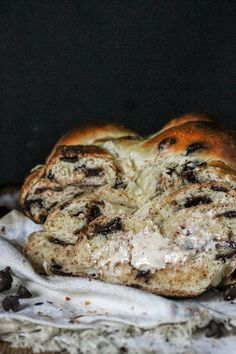 This Chocolate Chip Challah is delicious, impressive, and perfect to serve with your Hannukah dinner or on Shabbat! It will disappear off the table.