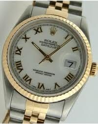 ROLEX 16233 STEEL & GOLD OYSTER PERPETUAL DATEJUST Like New (MAX032145) | MAX PAWN | Buya