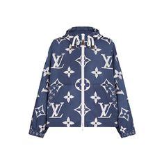 LV Escale Printed Parka in Bleu - Ready-to-Wear Ropa Louis Vuitton, Louis Vuitton Usa, Winter Coats Women, Coats For Women, Jackets For Women, Parka, Louis Vuitton Australia, Fashion Books, Outerwear Jackets