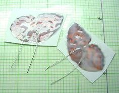 Butterfly Wings June 2002 Polymer Clay Polyzine - Terrific for decorating city apartments and curtain falls