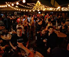 """""""South Howard Avenue's booming bar scene, and the crowds like this one at MacDinton's Irish Pub and Restaurant, have Tampa officials looking for ways to make the street less congested and safer. Tampa Nightlife, Dublin Nightlife, Tampa Florida, Tampa Bay, Night Club, Night Life, Bars In Tampa, Bar Scene"""