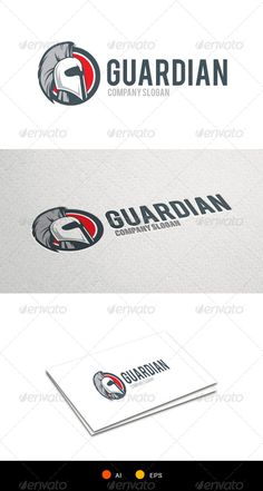 Guardian KnightTemplate Logo Design Template Vector #logotype Download it here: http://graphicriver.net/item/guardian-knight-logotemplate/6495999?s_rank=147?ref=nexion