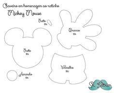 srfeltrim   Chaveiro em homenagem ao Mickey com molde gratuito e PAP em vídeo: