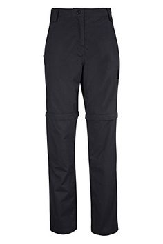 Introducing Mountain Warehouse Expedition Womens Convertible Trousers Black 10. Great Product and follow us to get more updates!