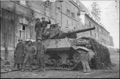 IN December 1944 the Allies - primarily American - were caught by a surprise attack by the Nazis in eastern Belgium, northeast France, and Luxembourg. As many as US soldiers died during the Battle of the Bulge, which took place in brutal snowy conditions. Ww2 Pictures, Military Pictures, Ww2 Photos, M10 Wolverine, M10 Tank Destroyer, Ww2 Tanks, Armored Vehicles, World War Ii, Military Vehicles