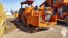 Tamrock Bohrwagen Minimatic Spec H207 M und H205D. used Heavy Equipment  #mining #atlascopco #drill