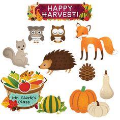 Happy Harvest Mini Bulletin Board